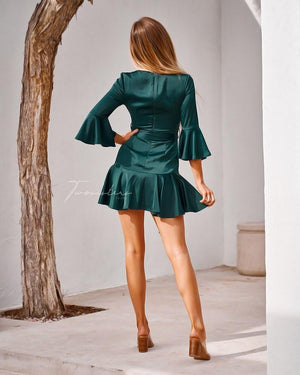 TWO SISTERS THE LABEL: CONSTANCE DRESS - GREEN