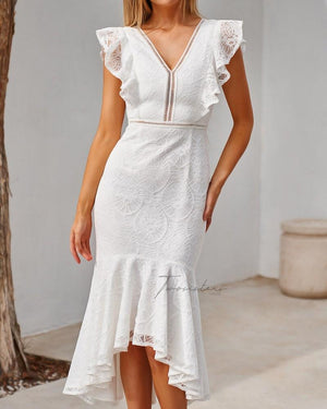 TWO SISTERS THE LABEL: CHANTELLE DRESS - WHITE