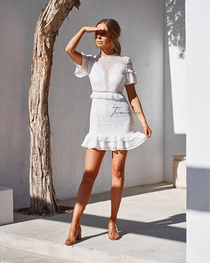 ELIZABETH DRESS - WHITE