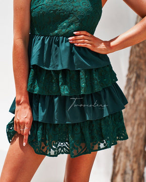 JACKIE DRESS - GREEN