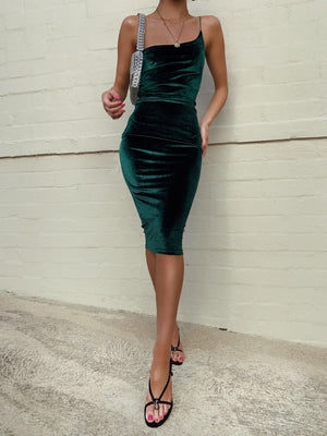 CARLITA DRESS - EMERALD