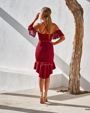 EMILY DRESS - RED