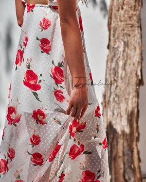 FLORENCE MAXI - WHITE FLORAL