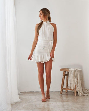 TWO SISTERS THE LABEL: PIP DRESS - WHITE