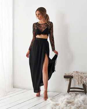 KENDALL SKIRT - BLACK