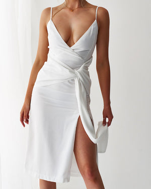 NEO DRESS - WHITE