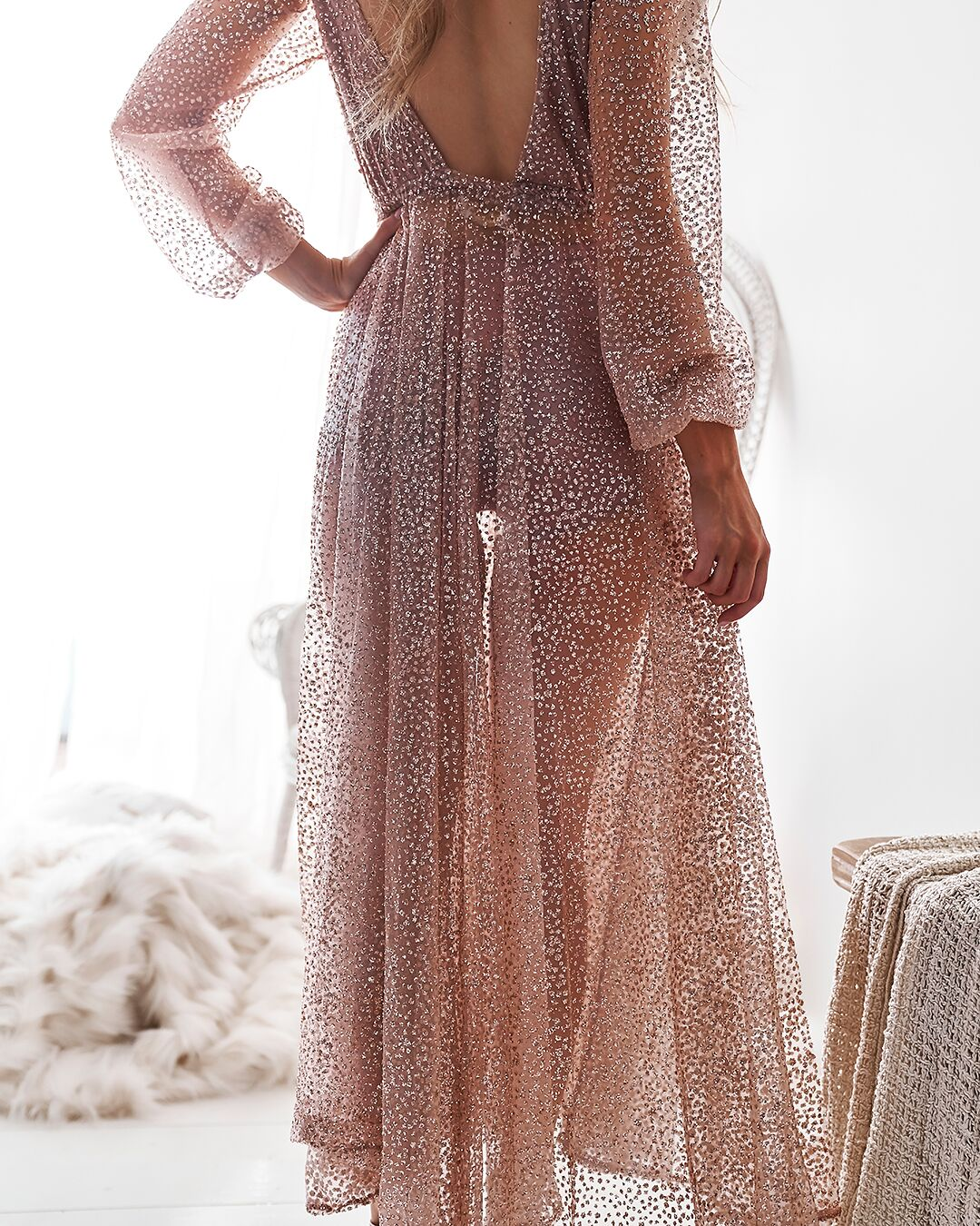 Glitter Gold dress recommend dress for winter in 2019