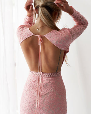 MEDINDIE DRESS - BLUSH