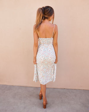 CAMERON DRESS - WHITE