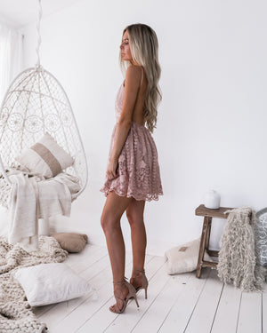 CASSIDY DRESS - PINK: PRE-ORDER