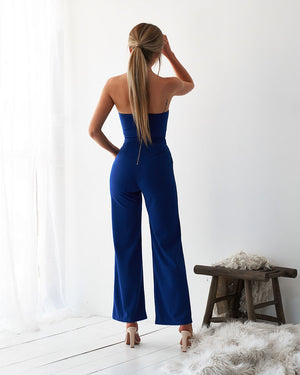 KIKI JUMPSUIT - ROYAL BLUE