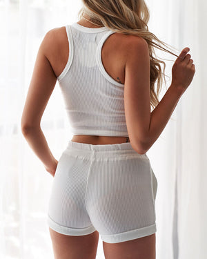 BAILEY SHORTS - WHITE
