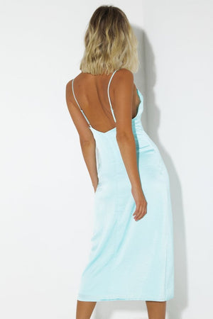 SIMONE DRESS - BABY BLUE