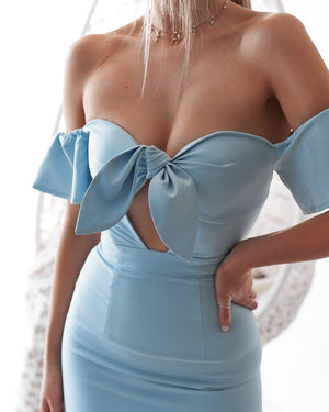 GIGI DRESS - BABY BLUE