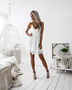 AURELIA DRESS - WHITE