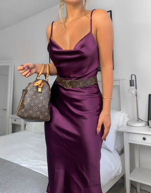 NATALIA DRESS - PURPLE
