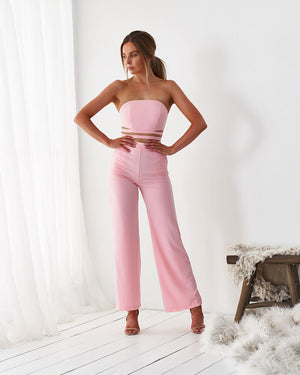 KIKI JUMPSUIT - BLUSH