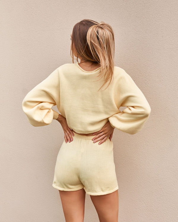 PIPPA SHORTS - YELLOW
