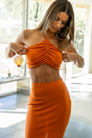 ON DEMAND TOP - ORANGE