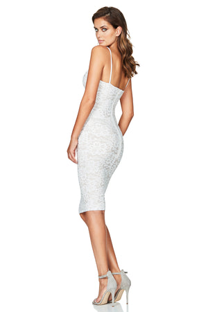 NOOKIE - PARIS LACE MIDI - IVORY