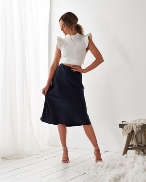 LUELLA SKIRT - NAVY