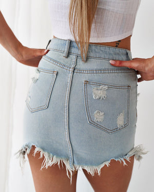 JORDAN DENIM SKIRT