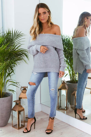 REECE KNIT - GREY
