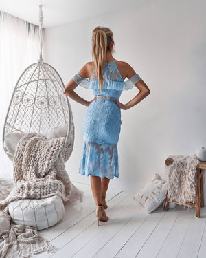 CONNIE DRESS - BABY BLUE