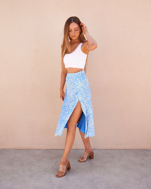 RENEE SKIRT - BLUE