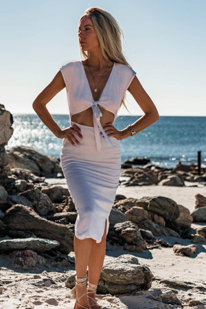 SORRELLI DRESS - WHITE