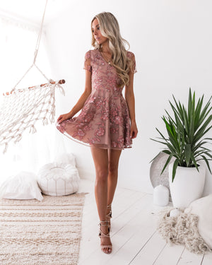 SASKIA MINI DRESS