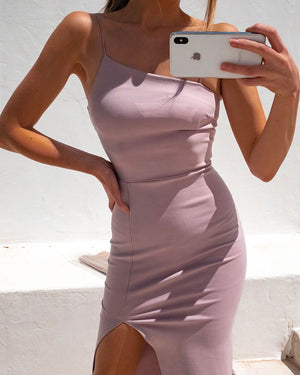LOVER DRESS - BLUSH BEIGE