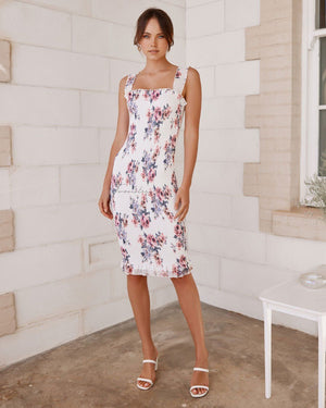 TWOSISTERS THE LABEL: MELLIE DRESS - WHITE