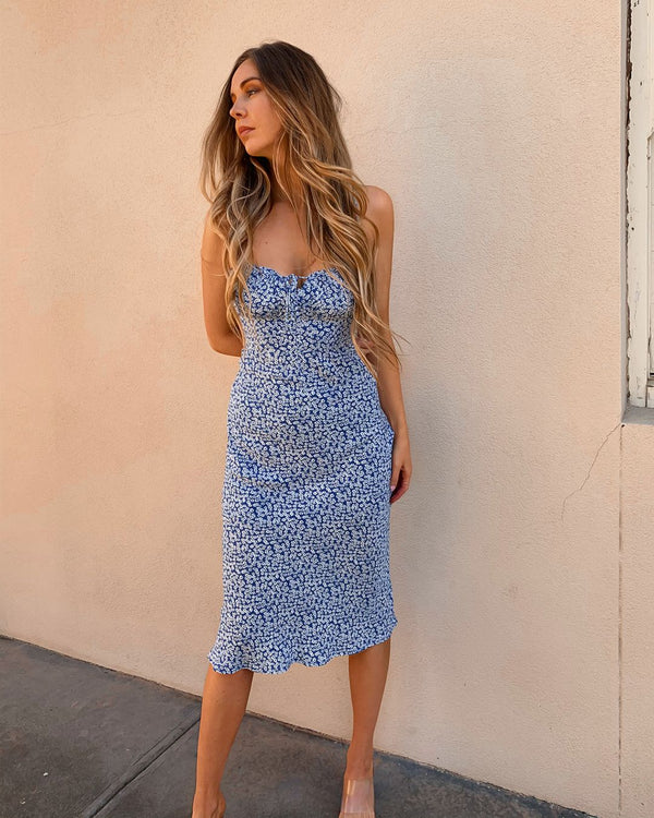 LEXIE DRESS - BLUE