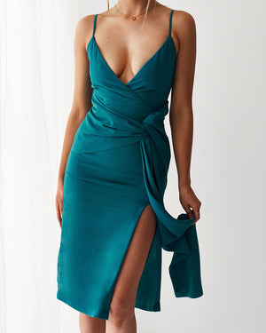 NEO DRESS - TEAL
