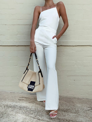 HANNAH JUMPSUIT - WHITE