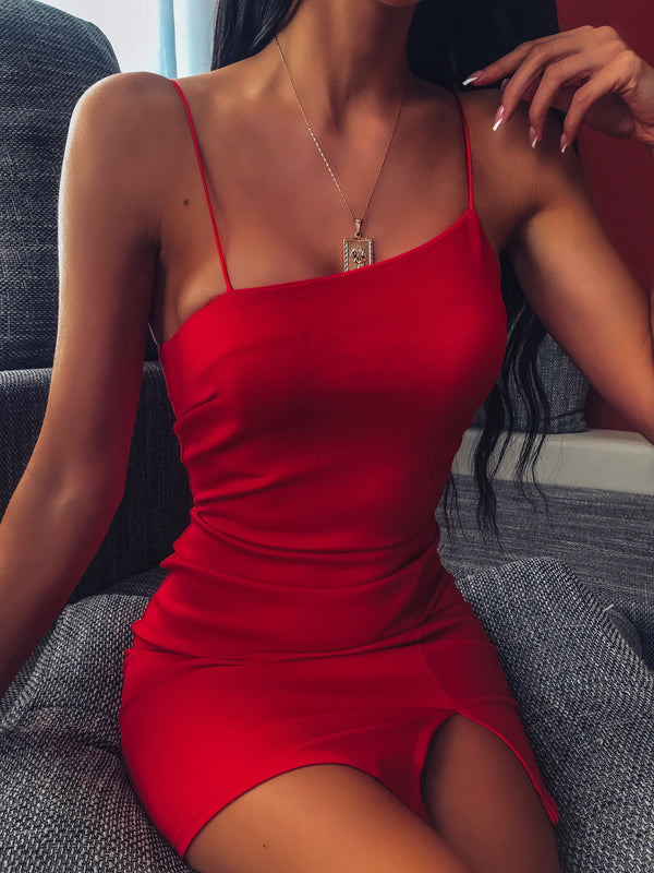 ALYSSA MINI DRESS - RED