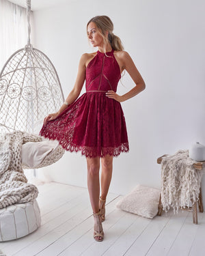 TORY DRESS - RED