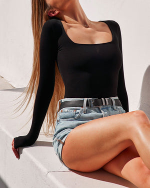 RUBY BODYSUIT - BLACK