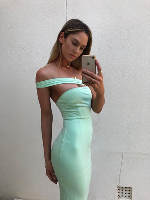 ZOEY DRESS - MINT