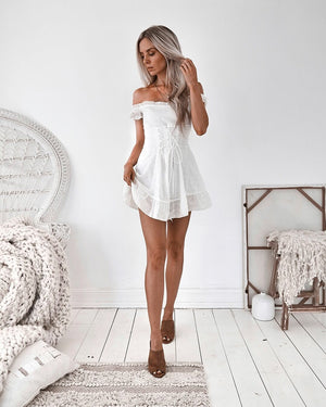 JULIET DRESS - WHITE