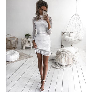 TWO SISTERS THE LABEL: RIVERDALE DRESS - WHITE