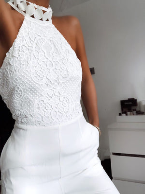 BREE JUMPSUIT - WHITE