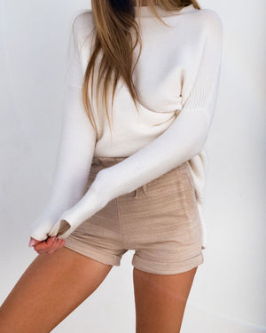 BAILEY SHORTS - TAN