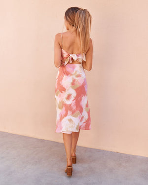 IZZY DRESS - SUNSET