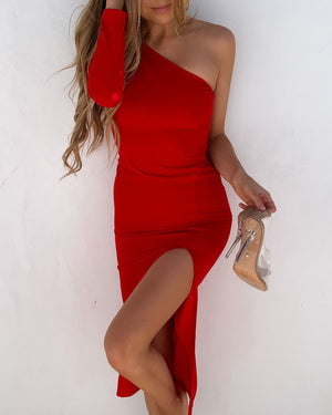 CLAUDIA DRESS - RED