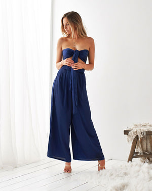 LA VIDA PANTS SET - NAVY