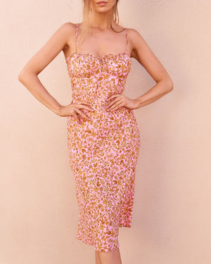 LEXIE DRESS - PINK