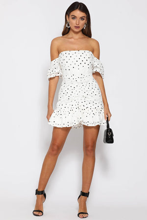 TIANA FRILL MINI DRESS