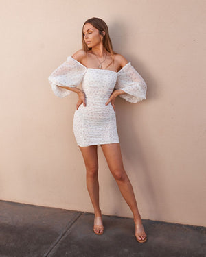 MILAN DRESS - WHITE